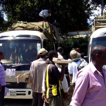 Mit dem Bus von Tansania nach Kenia