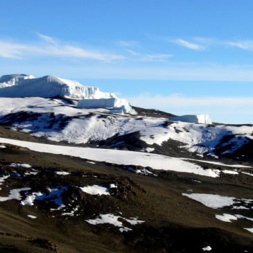 Gipfelsturm auf den Kibo