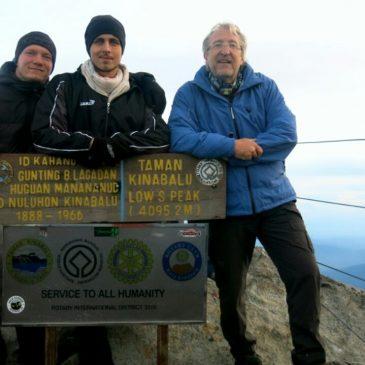 Gipfelsturm am Mount Kinabalu