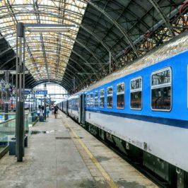 Eine lange Zugfahrt