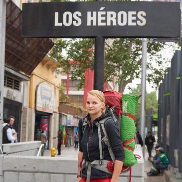 Ankunft in Santiago de Chile mit Besuch bei den Carabineros