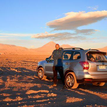 Nordwärts in die Atacama Wüste
