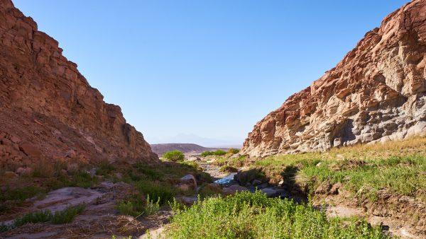 An schönen Plätzen um zu zelten mangelt es in der Atacama Wüste nicht.