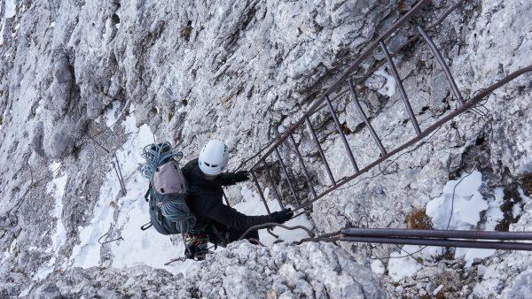 Klettersteig Eisenzeit : Stopselzieher klettersteig zugspitze westweg bergsteigen