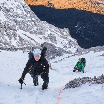 Zugspitze Nordwand – Eisenzeit