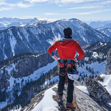 Panorama-Klettern über die Kampenwand