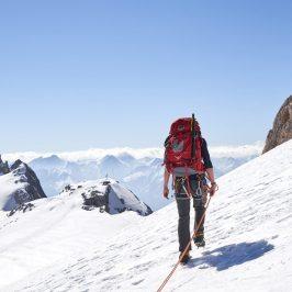 Hütte, Gletscher, Klettern: Der Hohe Dachstein