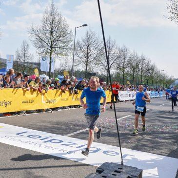 Bei 30km geht's los: Leipzig Marathon 2017