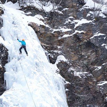 Eisklettern im Raurisertal